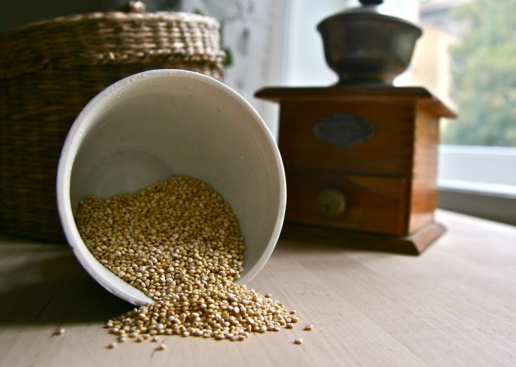 Quinoa tzv. úžasná :)